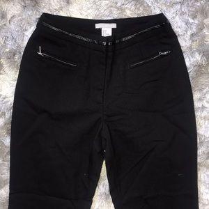 H&M Pants - Skinny cropped black dress pants